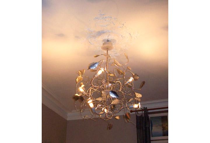 Au plafondcr ation de lampadaire lustre suspension - Lampadaire spots orientables ...
